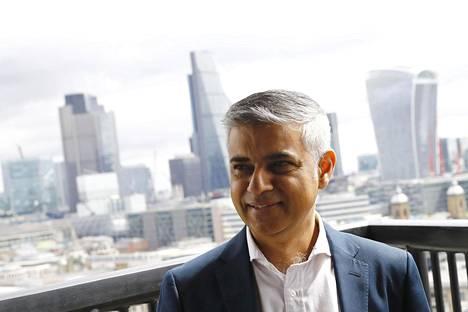 Lontoon pormestari Sadiq Khan.