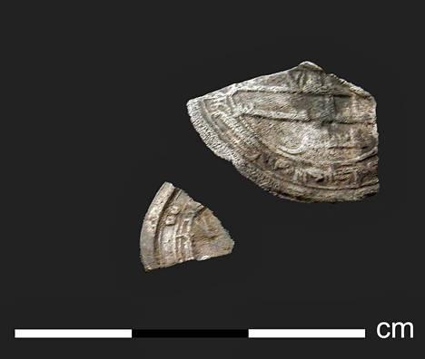 Ahvenanmaalta löytyneet kolikoiden kappaleet ovat ilmeisesti peräisin 800-luvun Lähi-idästä.