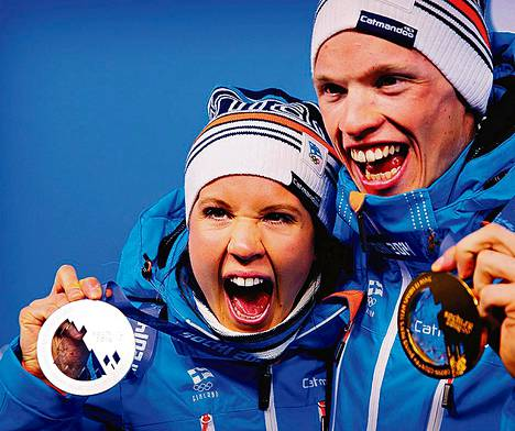 Kerttu ja Iivo Niskasella on Suomessa edessä vielä monet kakkukahvit ja mitalijuhlat.