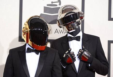 Daft Punk Grammy-palkintogaalassa Kaliforniassa vuonna 2014.