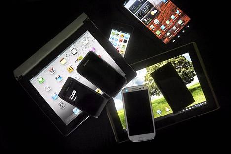 Poliisipartiot voisivat käyttää uutta työkaluaan esimerkiksi tabletilla tai älypuhelimella.