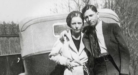 Bonnie Parker ja Clyde Barrow nousivat legendoiksi.