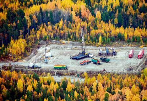 Njagan kaupungin lähistöllä Venäjän Siperiassa on energiayhtiö Gazpromneft-Hantosin liuskeöljykenttiä. Se on Fortumin tärkeä asiakas.