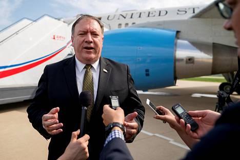 Yhdysvaltain ulkoministeri Mike Pompeo tyrmäsi Pohjois-Korean kiukuttelun.