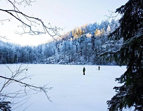 Jylhää järviluontoa edustava Etelä-Konneveden kansallispuisto kattaisi kokonaisen järven Konneveden ja Rautalammin kunnissa.