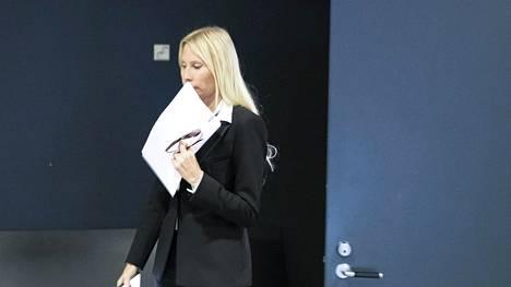 Maria Alanen Helsingin käräjäoikeudessa syyskuussa 2019.