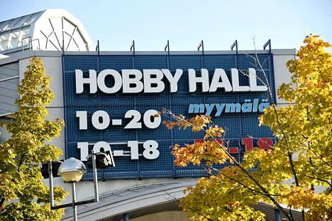 Hobby Hallin myymälä Vantaan Tammistossa.