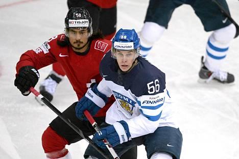 Erik Haula aloitti Sveitsiä vastaan terävästi.
