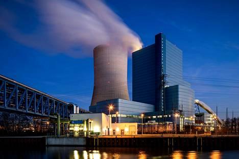 Uniperin Datteln 4 -voimala sijaitsee lähellä Dortmundia Saksassa.