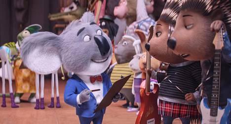 Koalakarhu Buster Moon järjestää laulukilpailut.