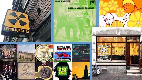 Levykauppa Äx ja Rolling Records ovat huomanneet, että kotimaisille uusintajulkaisuille on kysyntää.