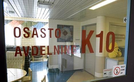 Helsingin lastenklinikan syöpäosasto.