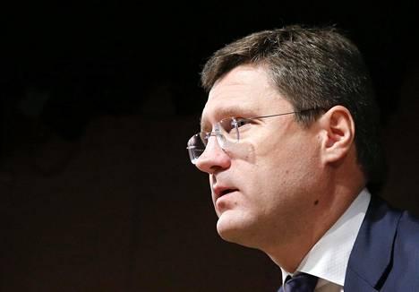 Venäjän energiaministeri Aleksandr Novak