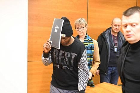 Gibril Massaquoi vangittiin Pirkanmaan käräjäoikeudessa maaliskuussa 2020.