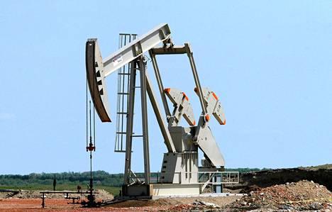 Öljyä porattiin Yhdyisvalliossa Pohjois-Dakotassa vuonna 2007.