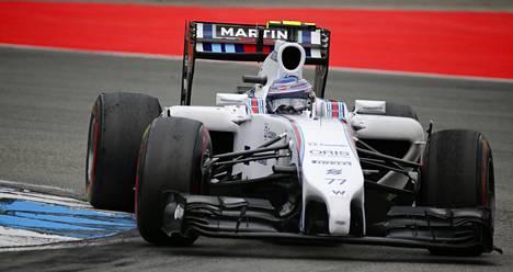Williamsin suomalaiskuski Valtteri Bottas nousi palkintokorokkeelle jo kolmannen kerran peräkkäin. Vauhti ei kuitenkaan riittänyt pysymään kisan voittaneen Nico Rosbergin perässä.
