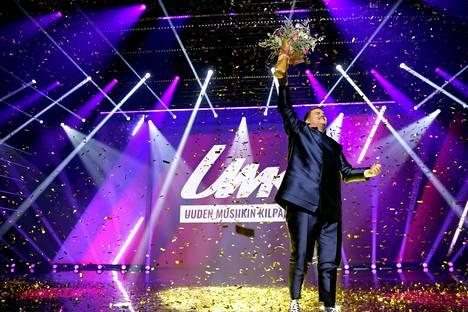 Aksel Kankaanranta voitti Uuden musiikin kilpailun.