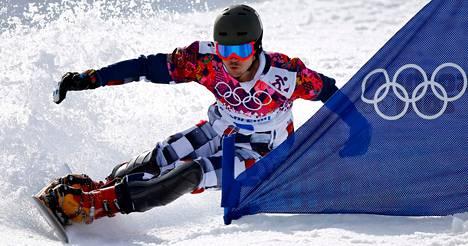 Vic Wild otti paripujottelussa toisen olympiakultansa.