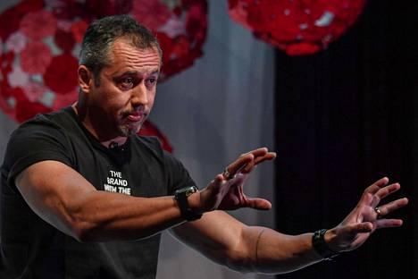 Teatteriohjaaja Roberto Alvim kuvattuna viime heinäkuussa. Hänet nimitettiin Brasilian kulttuuriministeriksi marraskuussa ja erotettiin tänä perjantaina.