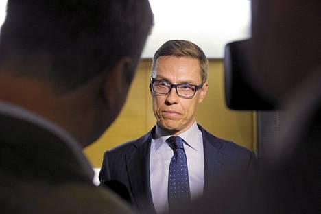 Valtiovarainministeri Alexander Stubb (kok)