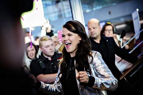 Saara Aallon X Factor -kausi huipentuu lauantaina Lontoossa.