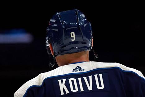Mikko Koivu kantoi tulokaskauttaan lukuun ottamatta koko NHL-uransa ajan pelinumeroa 9.
