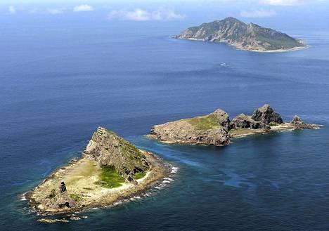 Etelä-Kiinan merellä sijaitsevia saaria kutsutaan Kiinassa nimellä Diaoyu ja Japanissa Senkaku.