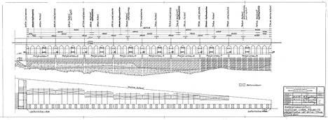 Tältä näyttivät Katajanokanlaiturin uusimisen piirustukset vuodelta 1954.