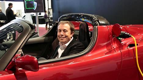 Teslan perustaja ja toimitusjohtaja Elon Musk.