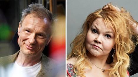 Ismo Alanko ja Katja Kettu
