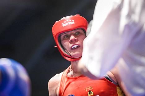 Mira Potkonen iski Suomen mestariksi Rovaniemellä viime marraskuussa.