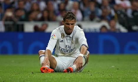 Cristiano Ronaldo joutui pettymään El Clásicossa.