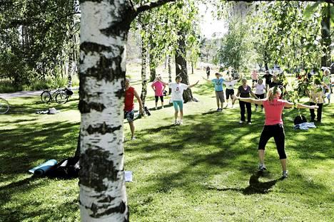 Puistojumppa Helsinki