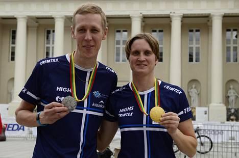 Jussi Laurila voitti MM-hopeaa ja Marika Hara MM-kultaa.