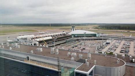 Helsinki-Vantaan lentokenttä marraskuussa 2017.