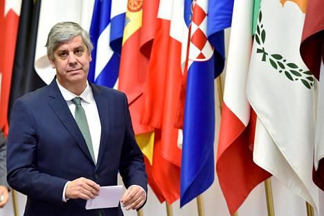 Euroryhmän puheenjohtaja Mário Centeno