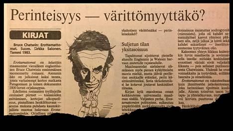 Helsingin Sanomat 7.11.1983.