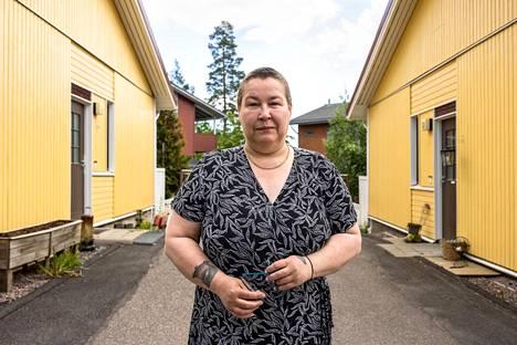 Hilkka Suortti pelasti naapurinsa tulipalosta vuonna 2017.