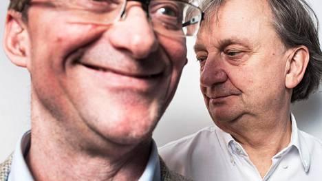 Sdp:stä eronnut Mikael Jungner (vas.) ja kokoomuksesta eronnut Harry Harkimo perustivat Liike Nyt -yhdistyksen. Se saattaa asettaa omia ehdokkaita seuraavissa vaaleissa.
