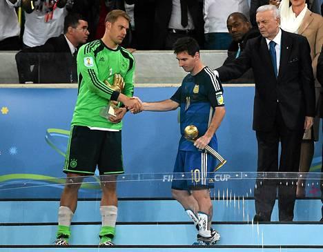 MM-turnauksen parhaalle pelaajalle annettava Kultainen pallo ei lämmittänyt Lionel Messin mieltä.
