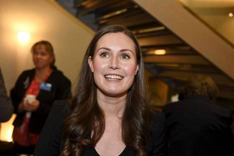 Sdp:n puoluevaltuusto valitsi Sanna Marinin puolueen pääministeriehdokkaaksi sunnuntai-iltana.