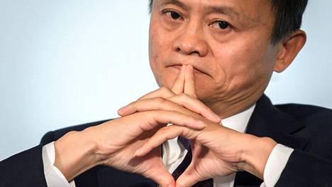 Alibaba Groupin perustaja Jack Maarkistokuvassa vuodelta 2018.