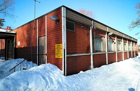 Käpylän peruskoulun sivukoulu Limingantiellä.