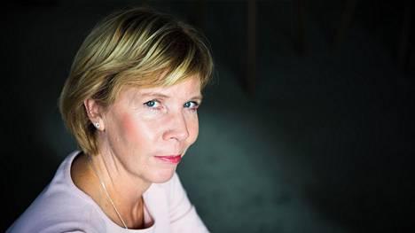 Rkp:n puheenjohtaja Anna-Maja Henriksson kuvatuna Rkp:n puoluetoimistolla Helsingissä syyskuussa 2018.
