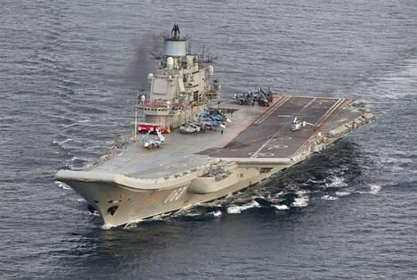 Admiral Kuznetsov vuonna 2016.