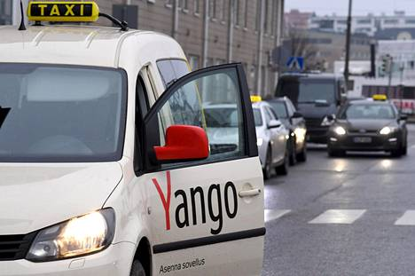 Venäläisen Yandexin Yango esitteli uutta taksipalvelua lehdistötilaisuudessa Helsingissä torstaina 8. marraskuuta 2018