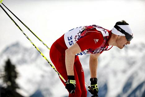 Dario Cologna hiihti perinteisen kisan vapaan suksilla.