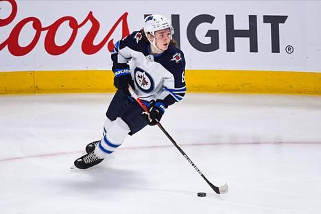 Sami Niku pelasi tällä kaudella Winnipeg Jetsin riveissä 17 ottelua.