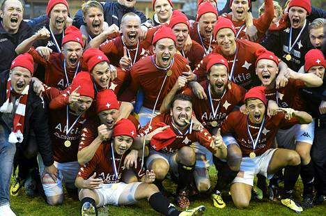 HIFK pelaa ensi kaudella jalkapallon Veikkausliigassa.