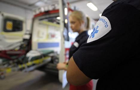 Med Groupin Malmin ensihoitoyksikkö Helsingissä toukokuussa 2014.